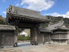 仙巌園の正門です。