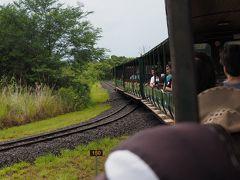 アルゼンチン側では列車移動しながら回るようです。