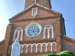 黒島天主堂です 中は撮影できませんが素晴らしいですよ