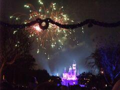 """最後は「Believe … in Holiday Magic"""" fireworks」を鑑賞。"""