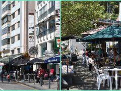 お洒落なカフェやパブが並ぶ美しいメインストリート