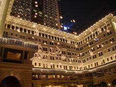 ザ ペニンシュラ 香港のクリスマスイルミネーション