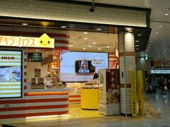 新幹線の時間までまだまだあるけど、新大阪のショップも楽しいので早々に新大阪駅へ。 ここはチキンラーメンのショップ。
