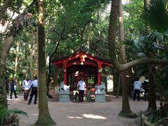 青島神社にお参りして右側にある本宮 入口に気付きにくいです。