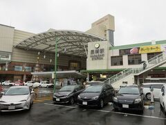 なんとか長崎駅に到着。雨と風がすごい!!