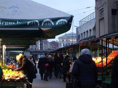 バスターミナルの近くにある中央市場です。 市場ってその場所の暮らしが見えるので、大好きです。