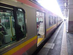 12時15分発の長岡行きは予定通り運行。