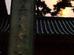 歩いて7分くらいか 雪の中の増上寺 早朝の訪問 三縁山広度院 増上寺 浄土宗 大本山