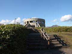 開陽台展望台 駐車場から階段を登ったところにあります。
