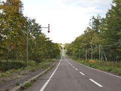 ミルクロードと言えばこの道の19号線。 本日の宿の知床まで約90km、頑張って移動します。