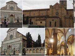 サンタ・マリア・ノヴェッラ教会です。 大理石ファサードは、フィレンツェ・ルネサンス期の最も重要な建築作品の一つだそうです。 入場料を払わずちょっとだけ内部を覗きました。「どこも一緒」。