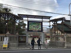 西に徒歩直ぐの今宮戎神社です。