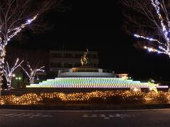 西大寺ファンタジーは2月28日までライトアップ中です。  最後までご愛読いただき、ありがとうございました。