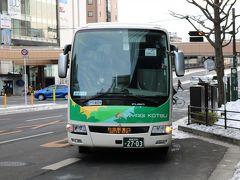 千秋号で秋田へ