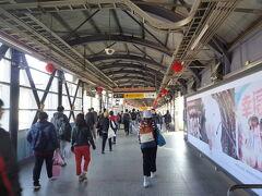 台鉄で、高雄駅へ行ったのも初めてでした。高雄駅も工事の真っ最中でした