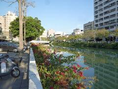 幸福川  三鳳宮の前を流れている川です。