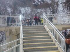 観瀑台に到着。