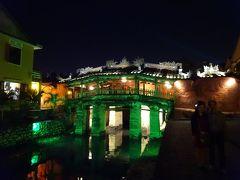 日本橋もライトアップ。 このグリーンは正解なのか?