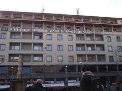 宿泊したホテルです。「アンバシアトリ」 駅前にあります。   今日は最終日。  午後1時頃まで自由行動です。
