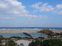 岩だらけですが、海岸まで降りられます。  (my trip) 15:28-45 あやまる岬