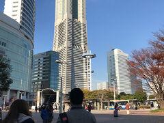 桜木町駅前 お天気はとても良かったです。