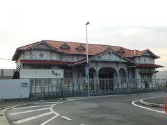 2018.02.11 浜寺公園 1駅歩いて浜寺公園の旧駅舎を眺め…