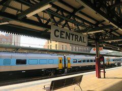 セントラル駅到着。