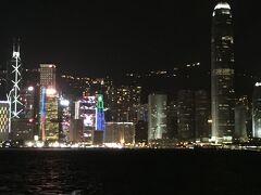 尖沙咀から観た香港島。