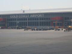 ゴールドコースト空港到着