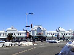 十数分で米沢駅到着 丁度お昼の時間に(^_^)v で、米沢と言えばもちろん米沢牛!!