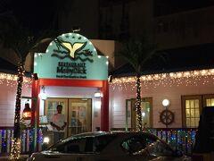 ホテル周辺のガラパン地区を散策した後、夕食を食べにモビーディックレストランへ。