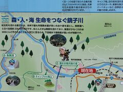 ここは三重県尾鷲市、清流銚子川沿いにある種まき権兵衛の里☆彡 有料道路から桜が見えたので来てみました。