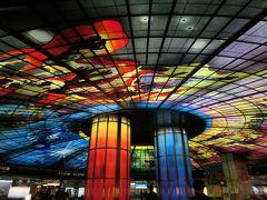 まずは、歩いてMRTの美麗島駅へ。 「世界で最も美しい駅」第2位にも選ばれた、高雄にある「美麗島駅」。世界最大のステンドグラスアートの「光之穹頂(光のドーム)」があります。 一日三回、光のショーがあるそうです。知りませんでした・・・。