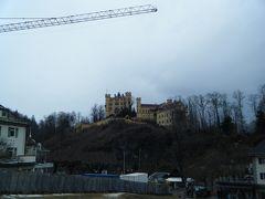 ヴィース教会をあとにし、シュヴァンガウへ。 ホーエンシュヴィァンガウ城!