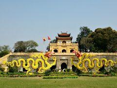 世界文化遺産 タンロン(昇龍)遺跡  1010年から1804年 王朝があったそうな