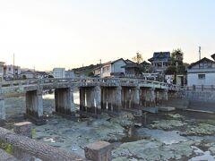 ホテルにチェックインして祇園橋へ。 この付近一帯は天草・島原の乱で 激戦地になったと言われる場所。