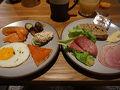 ●朝食@キャノピー  ホテルにて朝食。 今日も朝から沢山頂きました。