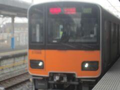 そんなことで、幸手から東武線に乗って東京へと戻ります。