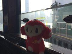そのあとは尖沙咀からスターフェリーに乗って香港島へ。