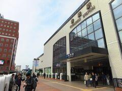 始発から6時間以上乗り継ぎ、倉敷駅へ。今更ながら、倉敷のチボリ公園ってなくなったんですね。。。