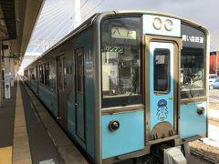 青森駅から浅虫温泉までは、この「青い森鉄道」で20分。 とてもアクセスが良いです。