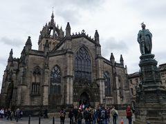 次は、「聖ジャイルズ大聖堂」です。 入るだけなら無料。 写真撮影は£2。 ここは払いました!