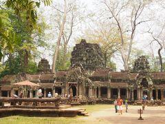 アンジェリーナ・ジョリーの映画トゥームレイダーの舞台になった寺院です。
