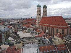 新市庁舎の塔からは,ミュンヘンの街並みを一望できる.