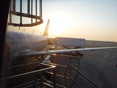 無事に二時間程度のフライトも終え、セントレアへと帰ってきました。