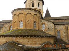 先ずはサント・フォア修道院教会へ