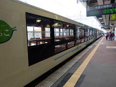 さてさて、風っこ紅葉号で古川から揺られること約2時間、終点の新庄駅に到着です!