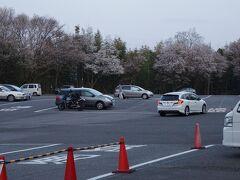 6時前に吉野山観光駐車場へ!