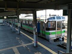 先述の通り、岩見沢からも721系で3両