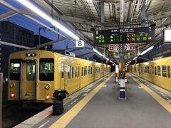 福山駅を早朝に出発 人生初の福塩線
